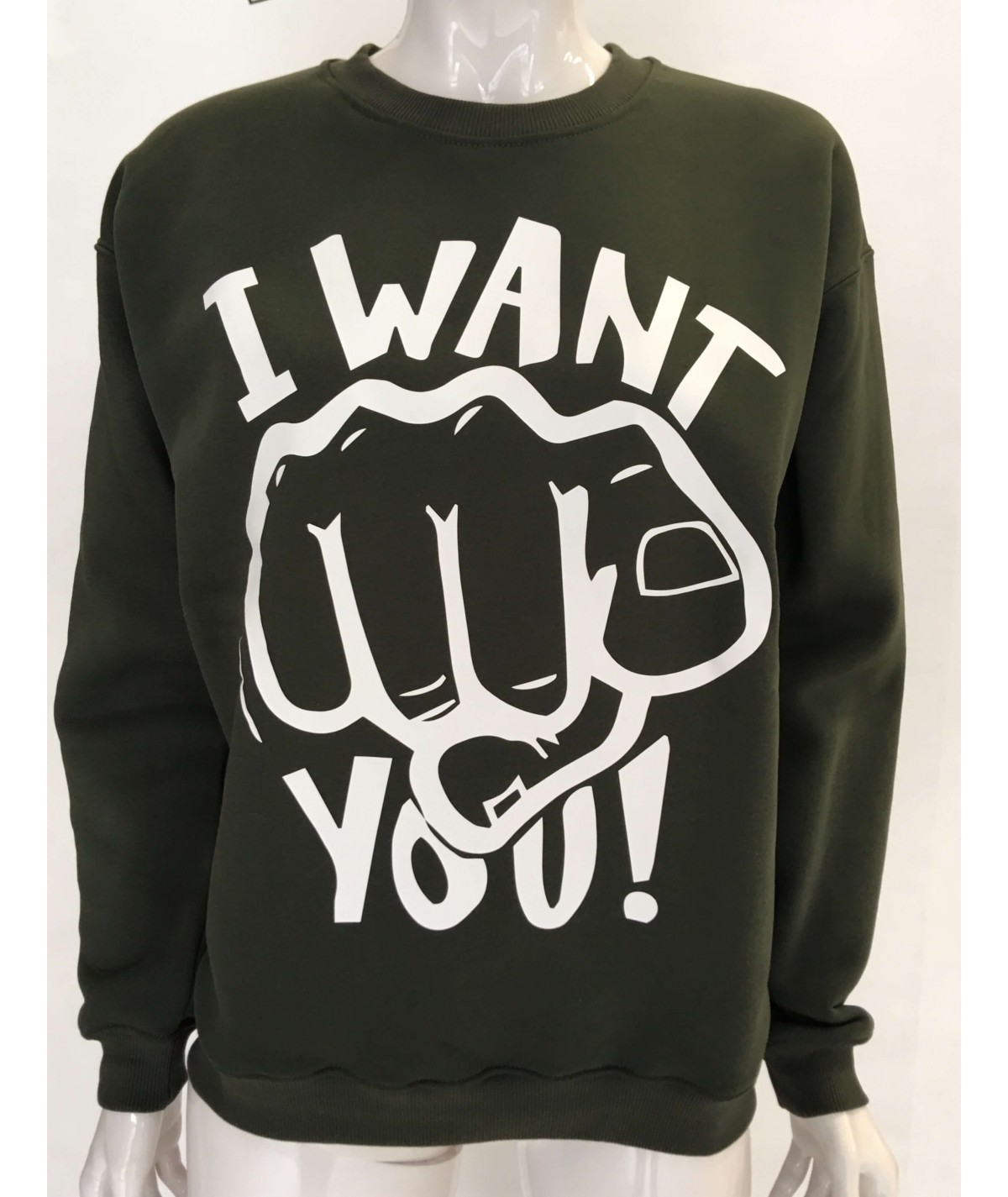 FELPA I WANT YOU UNISEX...